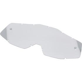 100% Accuri Anti Fog Mirror Goggles, grijs/rood